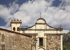 Church of St. Cross in Galtelli. Sardinia. Italy Stock Image