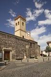 Church of St. Cross in Galtelli. Sardinia. Italy Stock Photos