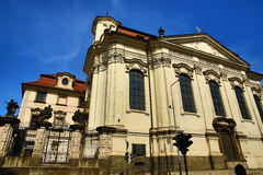 The Church of St. Cyril and Methodius, Prague, Czech Republic Stock Photo