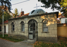Church of St. Cyril and Methodius in Prilep. Macedonia royalty free stock photo