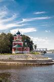 Church of St. Demetrios on the Blood Uglich, Russia Royalty Free Stock Image