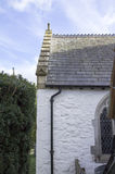 Church of St Digain, Llangernyw, Wales Stock Photos