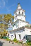 Church of St. Dimitrov Prilutsky on Navolok. Stock Photography