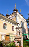 Church of St. Dimitrov Prilutsky on Navolok. Stock Photography