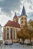 Church of St. Dionysius, Esslingen am Neckar, Germany stock photos