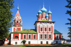 Church of St. Dmitry on the Blood in Uglich, Russia Stock Photos