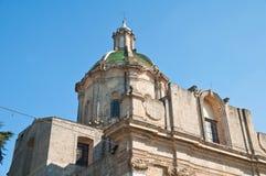 Church of St. Domenico. Altamura. Puglia. Italy. Stock Photos