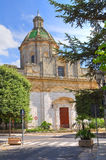 Church of St. Domenico. Altamura. Puglia. Italy. Royalty Free Stock Image