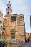 Church of St. Domenico. Andria. Puglia. Italy. Royalty Free Stock Photo