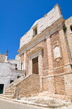 Church of St. Domenico. Ceglie Messapica. Puglia. Italy. Royalty Free Stock Images