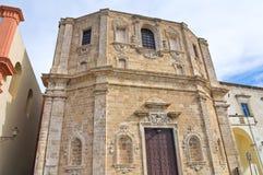 Church of St. Domenico. Gallipoli. Puglia. Italy. Royalty Free Stock Photography