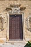 Church of St. Domenico. Gallipoli. Puglia. Italy. Stock Photos