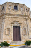 Church of St. Domenico. Gallipoli. Puglia. Italy. Stock Photo