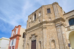 Church of St. Domenico. Gallipoli. Puglia. Italy. Royalty Free Stock Photos