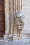 Church of St. Domenico. Manfredonia. Puglia. Italy. Royalty Free Stock Photo