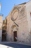 Church of St. Domenico. Manfredonia. Puglia. Italy. Stock Image