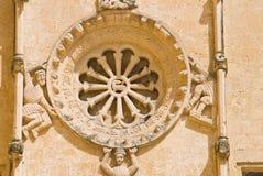 Church of St. Domenico. Matera. Basilicata. Italy. Royalty Free Stock Images