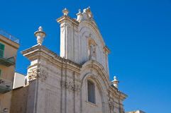 Church of St. Domenico. Molfetta. Puglia. Italy. Stock Images