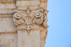 Church of St. Domenico. Molfetta. Puglia. Italy. Royalty Free Stock Photo