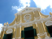 Church of St Dominic in Macau Stock Photography