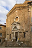 Church of St Dominic, Urbino, Italy Stock Images