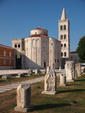 Church of st. Donat in Zadar, Croatia. Church of st. Donat, a monumental building from the 9th century in Zadar, Croatia Royalty Free Stock Photos