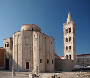 Church of st. Donat in Zadar, Croatia. Church of st. Donat, a monumental building from the 9th century in Zadar, Croatia Royalty Free Stock Image