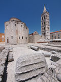 Church of st. Donat in Zadar, Croatia. Church of st. Donat, a monumental building from the 9th century in Zadar, Croatia Stock Image