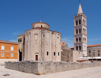 Church of st. Donat in Zadar, Croatia. Church of st. Donat, a monumental building from the 9th century in Zadar, Croatia Royalty Free Stock Photo