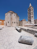 Church of st. Donat in Zadar, Croatia. Church of st. Donat, a monumental building from the 9th century in Zadar, Croatia Stock Photography