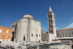 Church of St. Donat, Zadar, Croatia Royalty Free Stock Images
