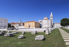 Church of St. Donat in Zadar Royalty Free Stock Image