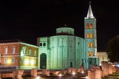 The Church of St. Donatus in Zadar Stock Photo