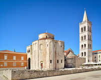 Church of St. Donatus in Zadar Stock Images