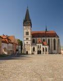 Church of st. egidius in bardejov royalty free stock image