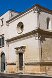 Church of St. Eisabetta. Lecce. Puglia. Italy. Royalty Free Stock Photo