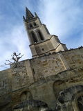 Church of St. Emilion Royalty Free Stock Photography