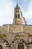 Church of St. Emilion Royalty Free Stock Image