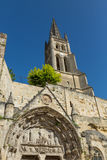 The Church in St. Emilion Royalty Free Stock Images