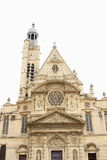 Church St-Etienne-du-Mont, Paris Royalty Free Stock Photography