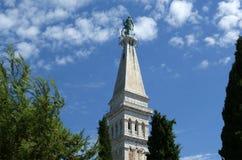 Church of St. Eufemia (Euphemia), Rovinj, Croatia Stock Photography