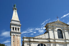 Church of St. Eufemia (Euphemia), Rovinj, Croatia Stock Image