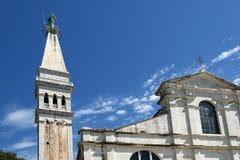 Church of St. Eufemia (Euphemia), Rovinj, Croatia Stock Image