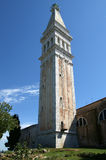 Church of St. Eufemia (Euphemia), Rovinj, Croatia Stock Images