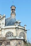 The Church of St Eustace, Paris. Stock Image