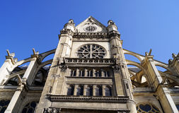 Church of St Eustache in Paris Royalty Free Stock Photography