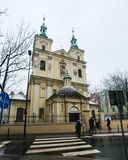Church of St. Florian in Krakow Royalty Free Stock Photo