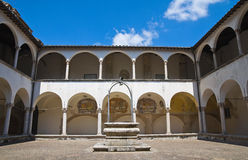 Church of St. Francesco. Amelia. Umbria. Italy. Perspective of the Church of St. Francesco. Amelia. Umbria. Italy Royalty Free Stock Photos