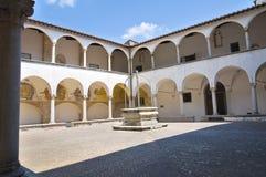 Church of St. Francesco. Amelia. Umbria. Italy. Church of St. Francesco of Amelia. Umbria. Italy Royalty Free Stock Photos