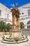 Church of St. Francesco. Fasano. Puglia. Italy. Perspective of the Church of St. Francesco. Fasano. Puglia. Italy Royalty Free Stock Images